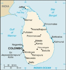 Sri Lanka_map