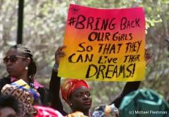 NYC Protest_Boko Haram_Michael Fleshman