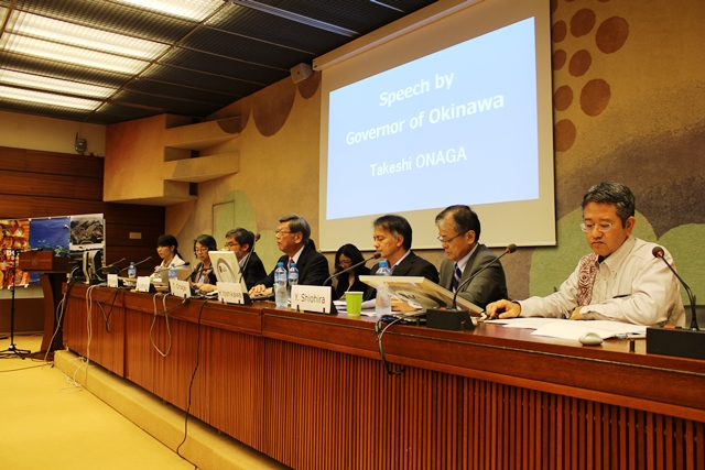 HRC30_Militarization and human rights violations in Okinawa, Japan_21092015