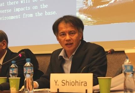 Hideki Yoshikawa_HRC30_Militarization and human rights violations in Okinawa, Japan_21092015