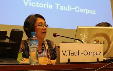 SRIP_Victoria Tauli-Corpuz_HRC30_Militarization and human rights violations in Okinawa, Japan_21092015
