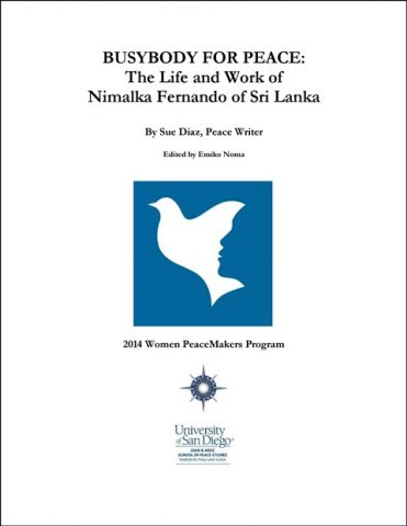 Cover_University of San Diego_BUSYBODY FOR PEACE_Nimalka Fernando_Sri Lanka