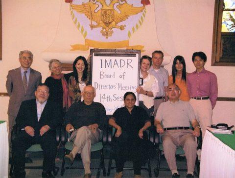 Rodolfo Stavenhagen_14th IMADR Board Meeting