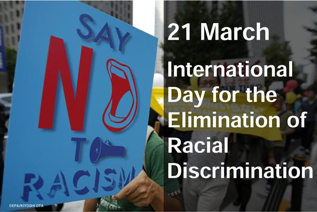 21 March_International Day for the Elimination of Racial Discrimination